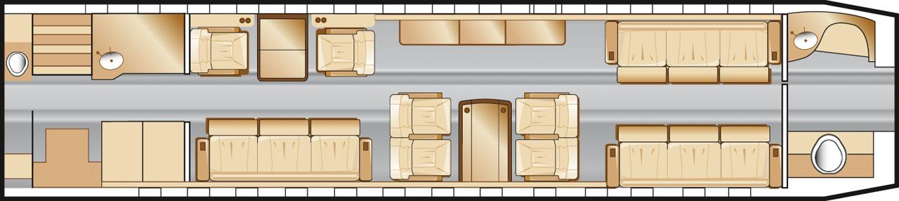 FALCON 7X  Largejets Charter From Starflight Aviation VIP Flight Managemen