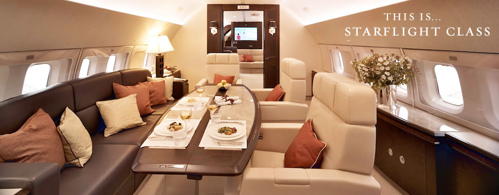 Private Jet Charter from Starflight Aviation